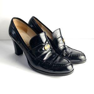Chanel Women's Black Heels Size 36